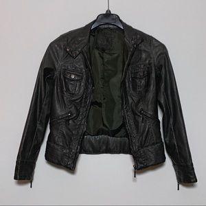 Dark olive jacket